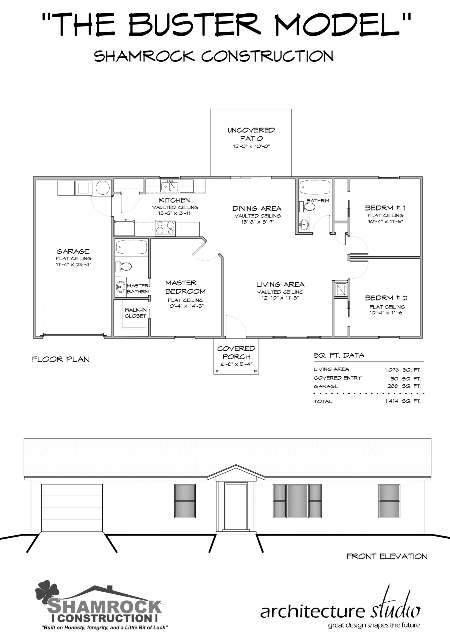 Buster Model Home - Shamrock Construction