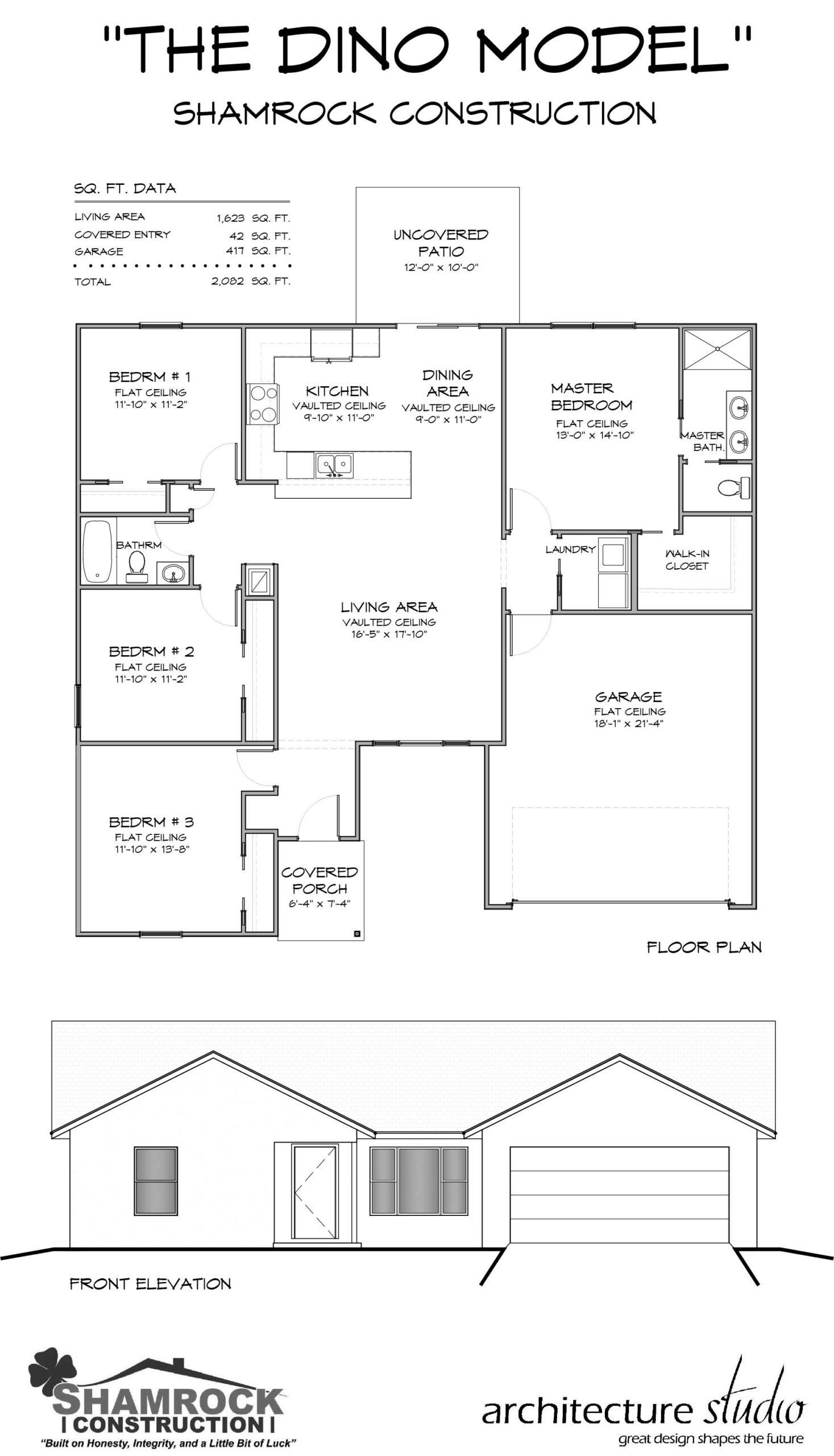 Dino Model Home - Shamrock Construction