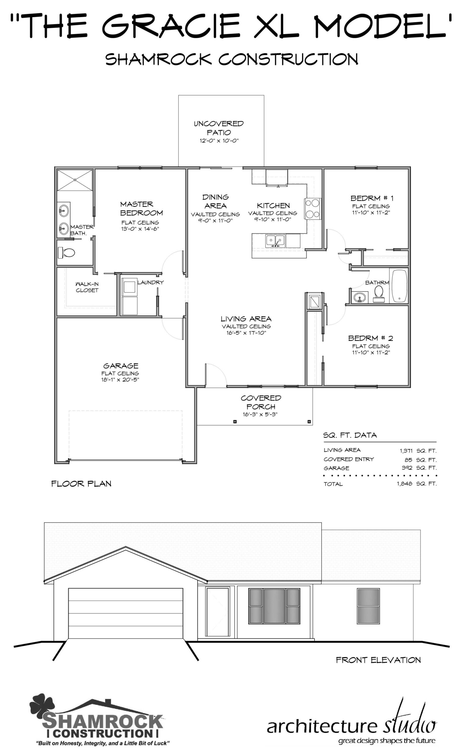 Gracie XL Model Home - Shamrock Construction